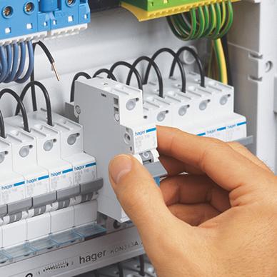 Nykomna Snabbanslutning med QuickConnect-teknologi Hager PS-42